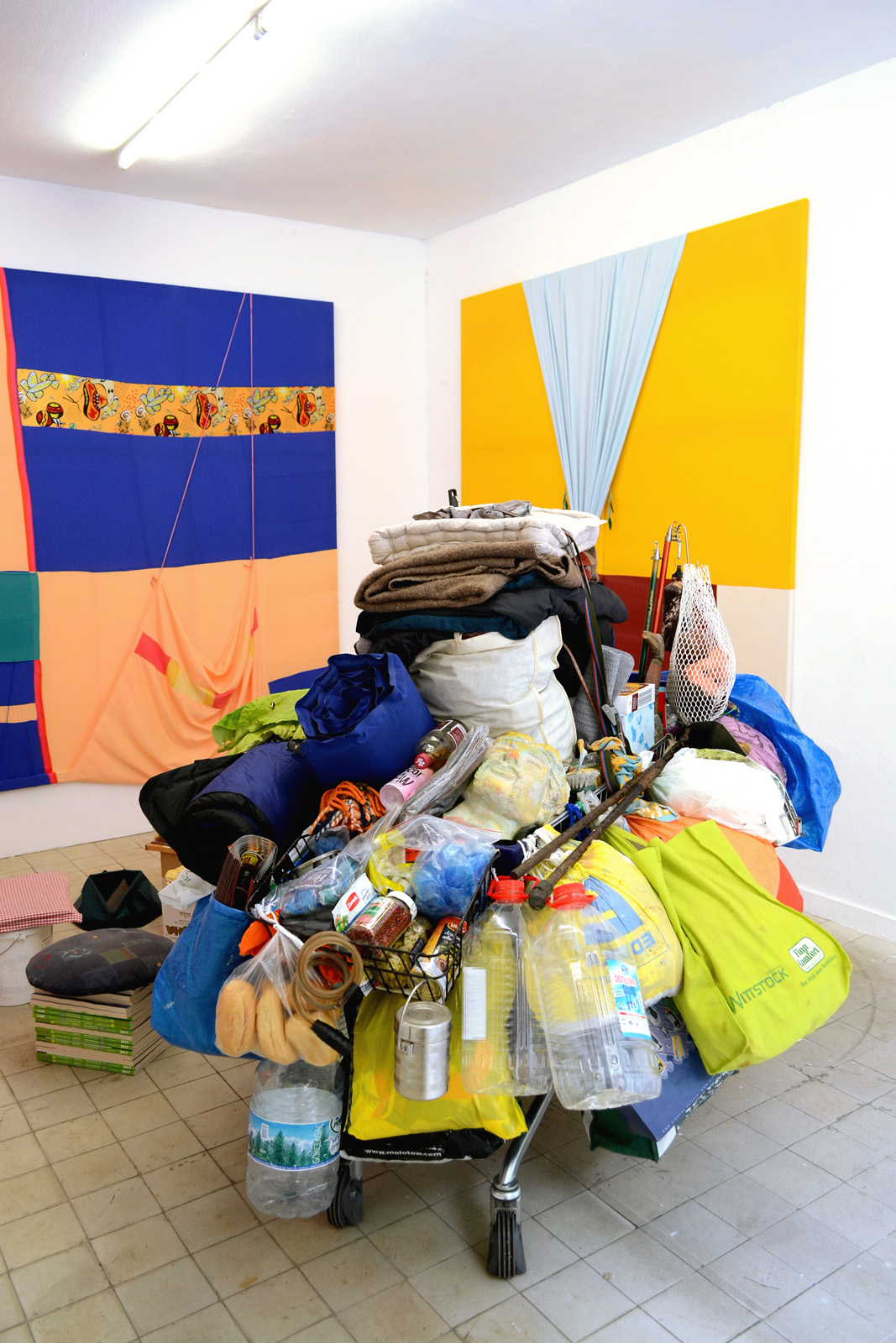 Michel Aniol & Meike Kuhnert In Medias Res stay hungry project space Berlin