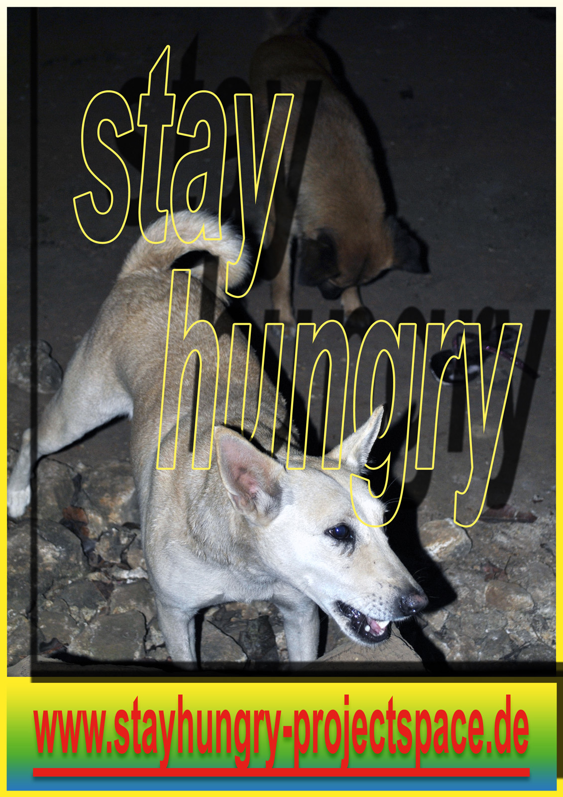 stay hungry poster Michel Aniol Meike Kuhnert